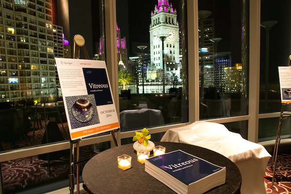 Dr. J. Sebag holds party in Chicago to celebrate the release of Vitreous.